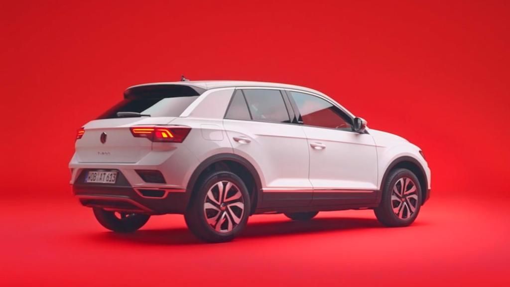 Volkswagen T-Roc dos mil veintiuno trasera